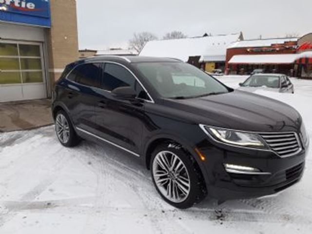 2016 LINCOLN MKC AWD 2.3 Turbo, R+¬serve in Mississauga, Ontario