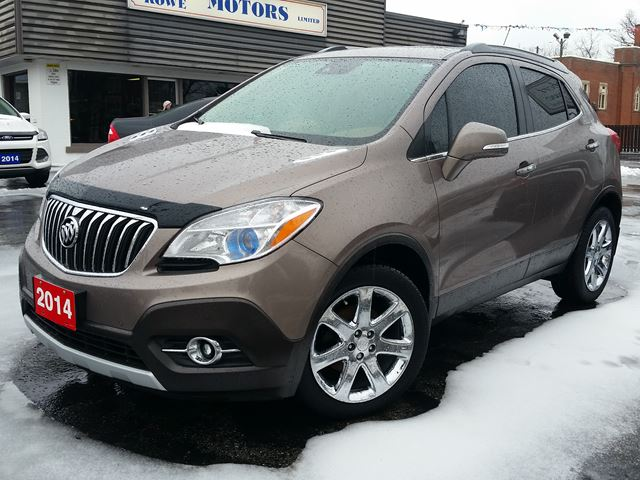 2014 BUICK ENCORE Premium,HEATED LEATHER,SUNROOF,,20,000 KLM in Dunnville, Ontario