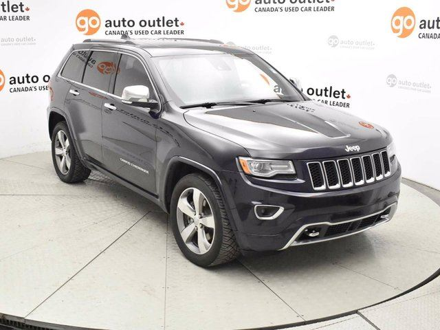 2014 JEEP GRAND CHEROKEE Overland 4dr 4x4 in Red Deer, Alberta