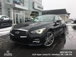 2015 Infiniti Q50 Sport Sport All Wheel Drive Navigation ! in Hamilton, Ontario