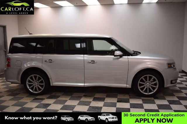 2014 FORD FLEX LIMITED AWD - LEATHER * A/C * 7 PASSENGER in Kingston, Ontario
