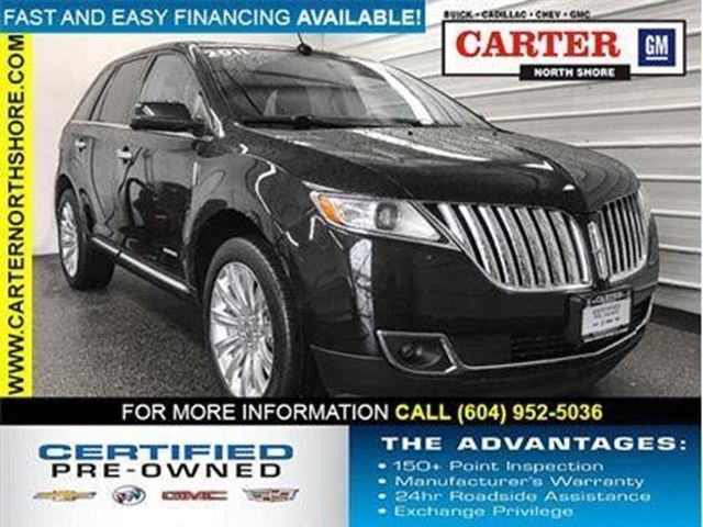 2011 LINCOLN MKX           in North Vancouver, British Columbia