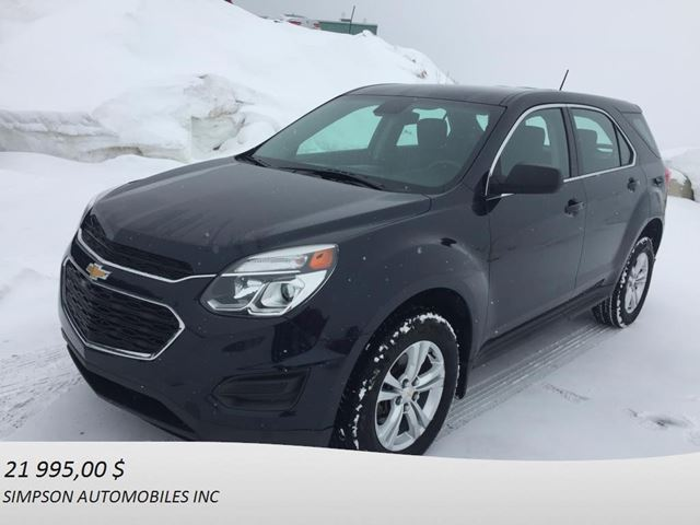 2016 Chevrolet Equinox LS in Gaspe, Quebec