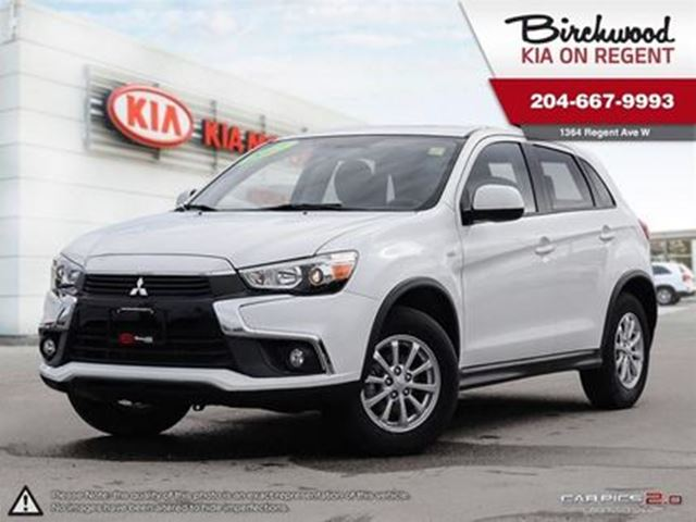 2017 MITSUBISHI RVR SE *Just Arrived and Ready for you!! in Winnipeg, Manitoba