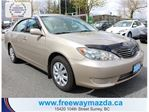 2005 Toyota Camry LE-ONE OWNER/ACCIDENT FREE in Surrey, British Columbia