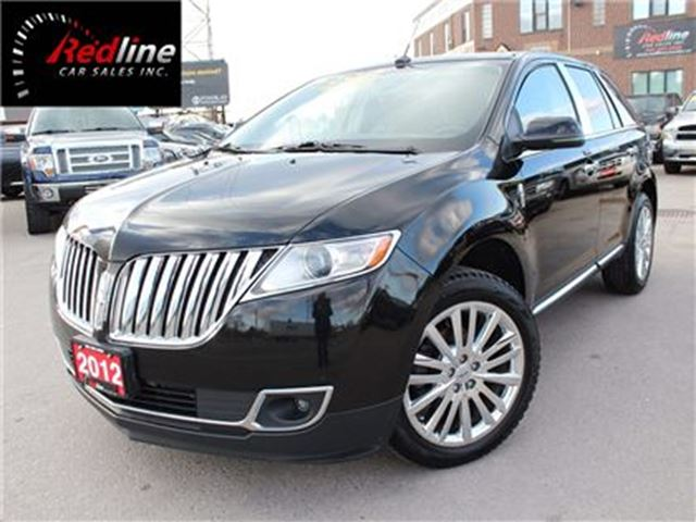 2012 LINCOLN MKX AWD Navi-Pano Roof-Lane Detection in Hamilton, Ontario