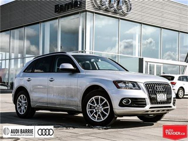 2013 AUDI Q5 2.0T Tip Qtro Incredible Condition in Innisfil, Ontario