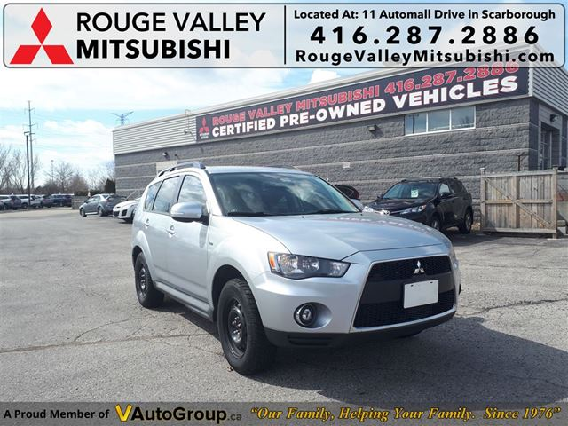 2011 MITSUBISHI OUTLANDER LS NO ACCIDENTS PRICED TO SELL in Scarborough, Ontario