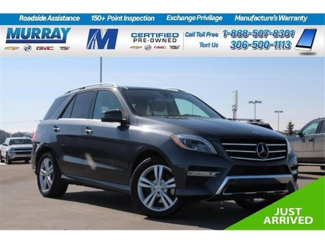 2014 Mercedes-Benz M-Class ML350 BlueTEC in Moose Jaw, Saskatchewan