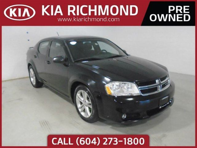 2013 DODGE AVENGER SXT Priced to Sell Touring Suspension Excell in Richmond, British Columbia