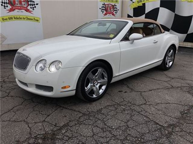 2007 BENTLEY CONTINENTAL GTC, Leather, Convertible, AWD Only 53,000km in Burlington, Ontario