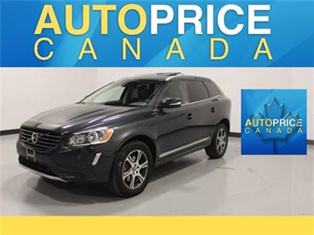 2014 VOLVO XC60 T6 PANORAMIC ROOF LEATHER AWD in Mississauga, Ontario