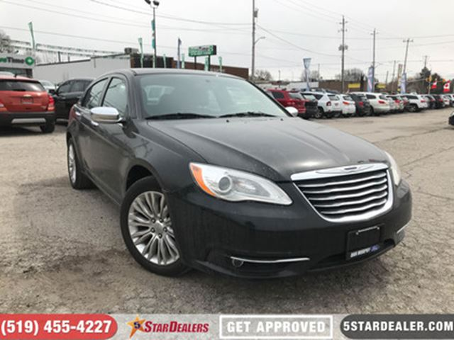 2013 CHRYSLER 200 Limited   LEATHER   ROOF   HEATED SEATS in London, Ontario