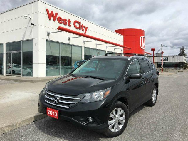 2013 HONDA CR-V EX-L, LEATHER, SUNROOF! in Belleville, Ontario