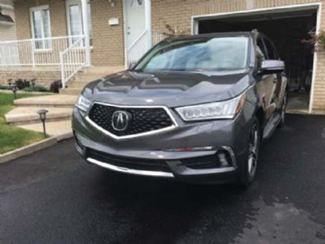 2017 ACURA MDX Navi AWD, Sport Luxury Pack,  Lease Guard + Comfort Pack in Mississauga, Ontario