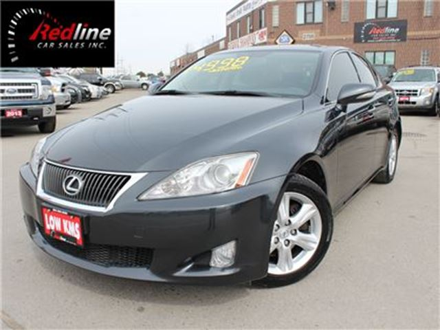 2010 LEXUS IS 250 RWD Accident Free-Bluetooth-Paddle Shift in Hamilton, Ontario