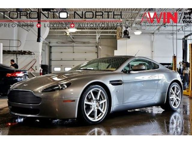 2007 ASTON MARTIN VANTAGE V8 NO ACCIDENT in North York, Ontario