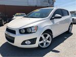 2014 Chevrolet Sonic LTZ Manual LEATHER MOON ROOF in St Catharines, Ontario
