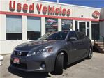 2012 Lexus CT 200h HYBRID- Leather  S.roof  B.tooth  B.cam  push Star in Toronto, Ontario