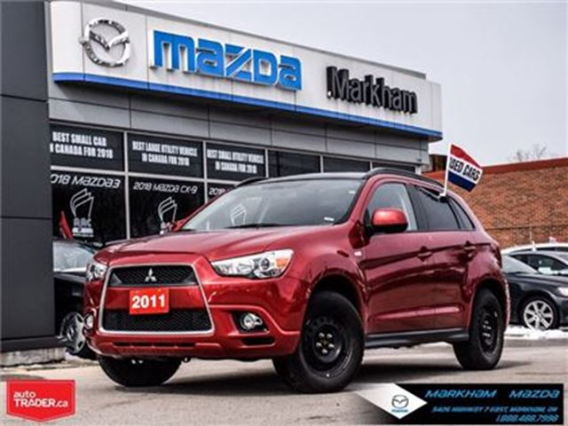 2011 MITSUBISHI RVR GT AWD Accident Free 1 Owner Super Low Mileage !!! in Markham, Ontario