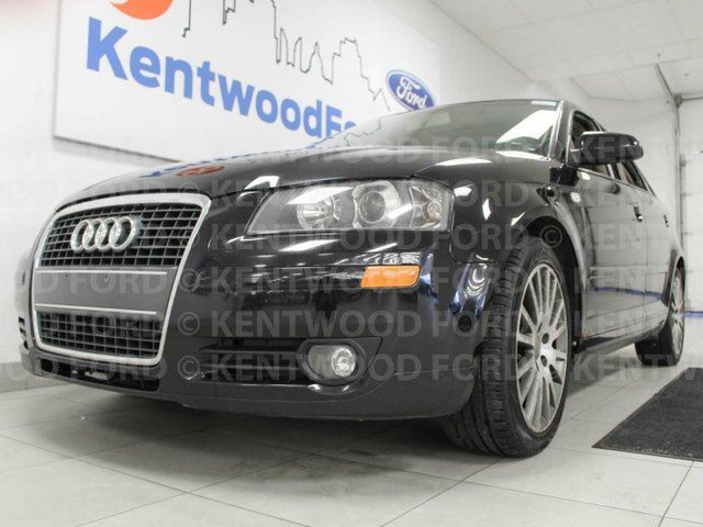 2006 AUDI A3 2.0T with heated leather seats and a sunroof. Enjoy the best in life in Edmonton, Alberta