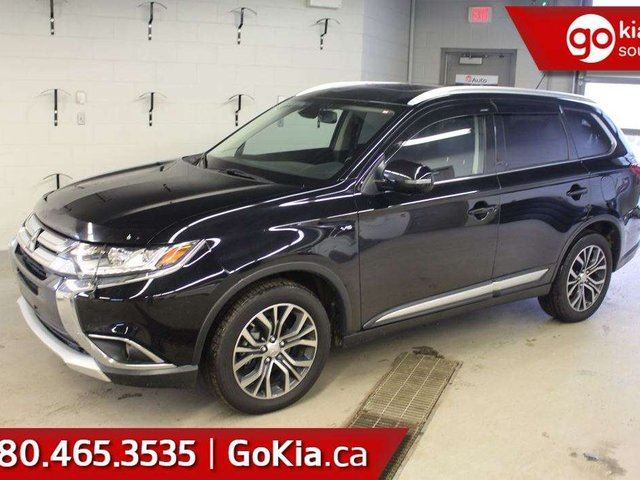 2016 MITSUBISHI OUTLANDER GT; SUNROOF, LEATHER, 7 PASS, AWD, NAV, CAR STARTER, HEATED SEATS, in Edmonton, Alberta