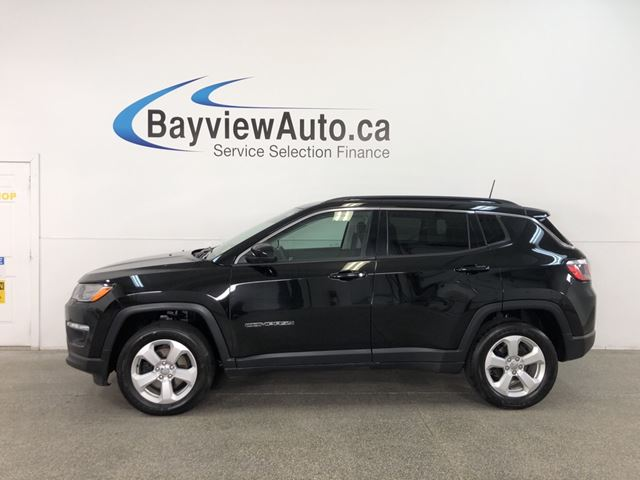 2018 JEEP COMPASS North - 4x4! PUSH BTN START! SELEC-TERRAIN! BLUETOOTH! in Belleville, Ontario