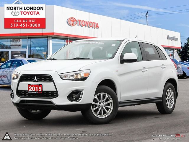 2015 MITSUBISHI RVR ES One Owner, No Accidents in London, Ontario