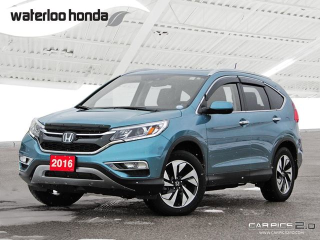 2016 HONDA CR-V Touring Bluetooth, Back Up Camera, Navigation, and More! in Waterloo, Ontario