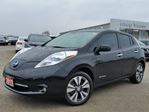 2015 Nissan Leaf SL ZERO EMISSION ELECTRIC w/all leather,heated seats,NAV,rear cam,climate control in Cambridge, Ontario