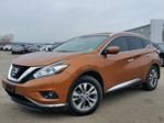 2015 Nissan Murano SL AWD w/all leather,NAV,panoramic roof,heated seats,rear cam,pwr group in Cambridge, Ontario