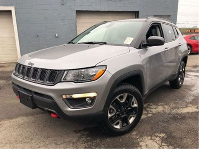2017 JEEP COMPASS Trailhawk 4WD LEATHER NAV PANORAMA ROOF in St Catharines, Ontario