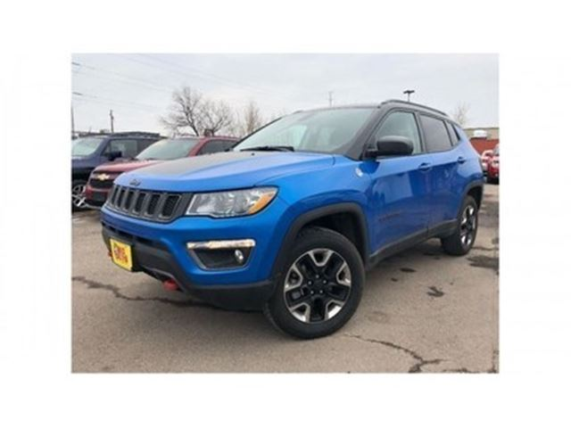 2017 JEEP COMPASS Trailhawk 4WD LEATHER NAV BACK UP CAM in St Catharines, Ontario