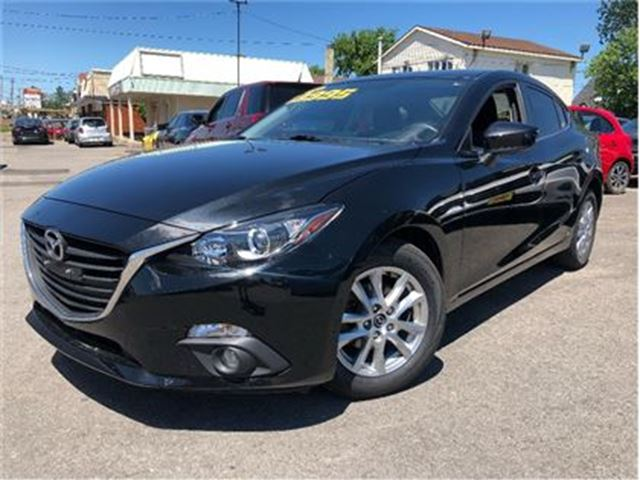 2014 MAZDA MAZDA3 GS-SKY SUN ROOF ALLOYS AUTOMATIC in St Catharines, Ontario