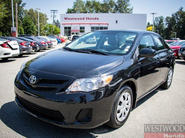 2012 TOYOTA Corolla CE (A4) in Port Moody, British Columbia