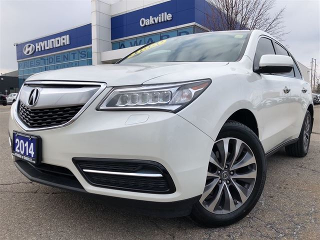 2014 ACURA MDX 3.5  NAVI  LEATHER  SH AWD  CAM  7 PASS in Oakville, Ontario