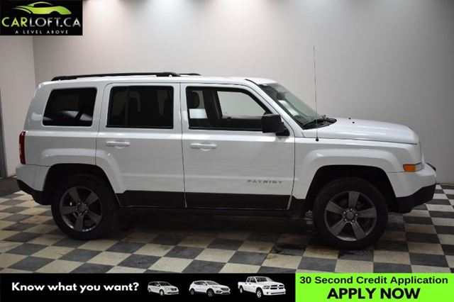 2015 JEEP PATRIOT HIGH ALTITUDE 4WD - SUNROOF * HEATED STS * LEATHER in Kingston, Ontario