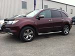 2007 Acura MDX Elite Pkg auto loaded leather roof AWD nav back up camera finance available    in Ottawa, Ontario