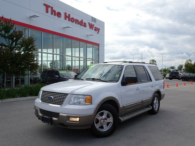 2004 FORD EXPEDITION Eddie Bauer 5.4L 4WD in Abbotsford, British Columbia