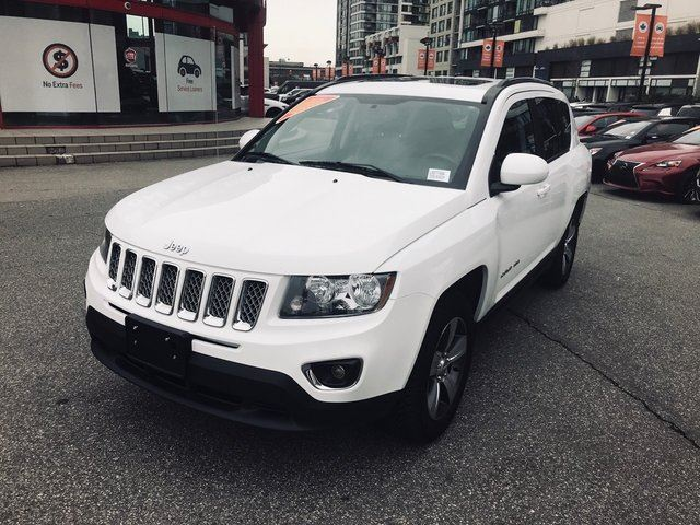 2016 JEEP COMPASS HIGH ALTITUDE in Richmond, British Columbia