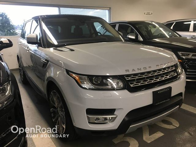 2017 LAND ROVER RANGE ROVER Sport 4WD 4dr Td6 HSE in Vancouver, British Columbia