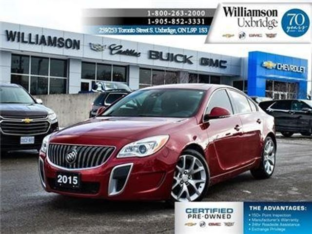 2015 Buick Regal GS in Uxbridge, Ontario