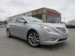 2013 Hyundai Sonata SE/LIMITED, HTD. LEATHER, ROOF, ALLOYS, 68K! in Stittsville, Ontario