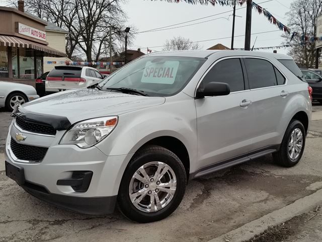 2011 CHEVROLET EQUINOX LS FWD bluetooth all power in St Catharines, Ontario
