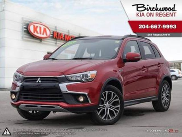 2016 MITSUBISHI RVR GT *Local Trade! Getting Ready for you! in Winnipeg, Manitoba