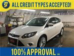 2013 Ford Focus TITANIUM*NAVIGATION*LEATHER*POWER SUNROOF*BACK UP in Cambridge, Ontario