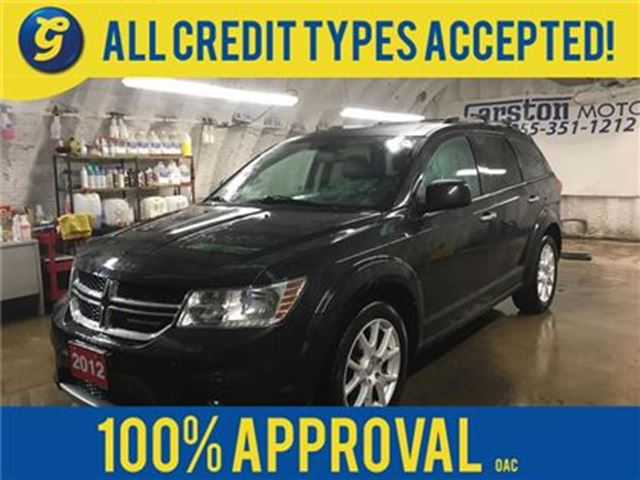 2012 DODGE JOURNEY R/T*AWD*NAVIGATION*REAR DVD PLAYER*POWER SUNROOF*L in Cambridge, Ontario