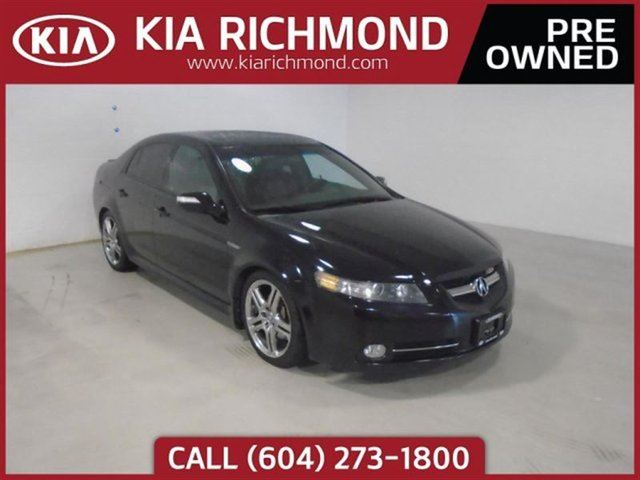 2007 ACURA TL Type-S No Accidents Heated Seats Leather Int in Richmond, British Columbia