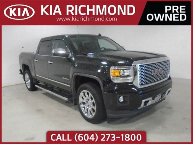 2014 GMC SIERRA 1500 Denali Low Km's Excellent Condition Local BC in Richmond, British Columbia