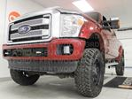 2015 Ford F-350 Lariat Platinum 6.2L V8 NAV, sunroof, heated/cooled power leather seats, heated steering wheel, heated rear seats and back up cam in Edmonton, Alberta